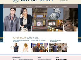 Butch Blum –  UI/UX Design | WordPress Implementation | Retail eCommerce (Woo!)